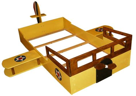 New Custom Wooden Airplane Twin Bed W Windows Propeller Airplane Bed Frame