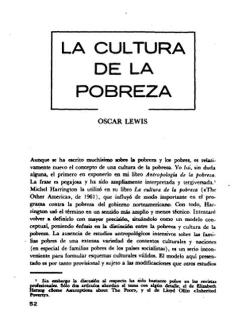 libro dioses tiles artculos sobre antropolog 237 a urbana 2014 oscar lewis art 237 culo quot la antropolog 237 a de la pobreza quot