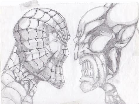 imagenes de spiderman para dibujar a lapiz spiderman vs wolverine a lapiz by martinjosegomez on