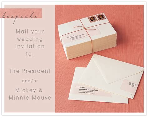 when to send wedding invites keepsake mailing your wedding invitations to the