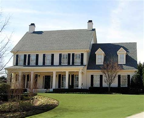front porches on colonial homes colonial style homes on colonial house plans