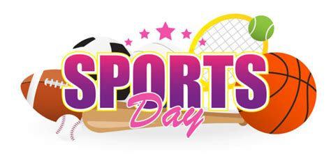 sports day illustrations royalty  vector graphics