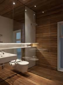 wood bathrooms 27 ideas and pictures of wood or tile baseboard in bathroom