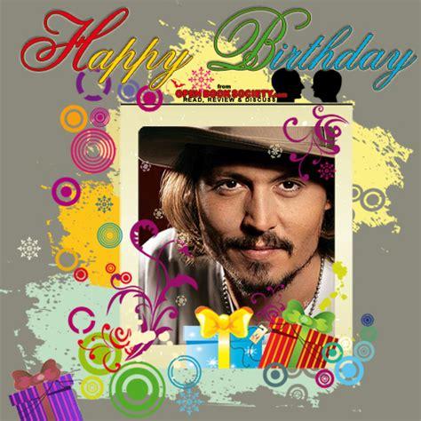 Johnny Birthday Card Happy Birthday Johnny Depp