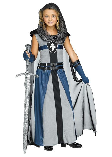 knight girls costume renaissance costumes