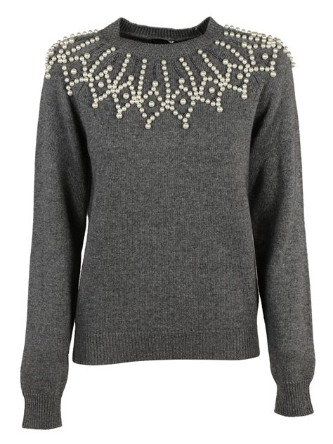 Embellished Sweater italist best price in the market for ermanno scervino