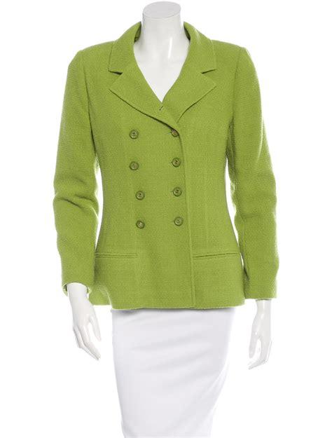 Breasted Tweed Jacket chanel breasted tweed jacket clothing cha113838