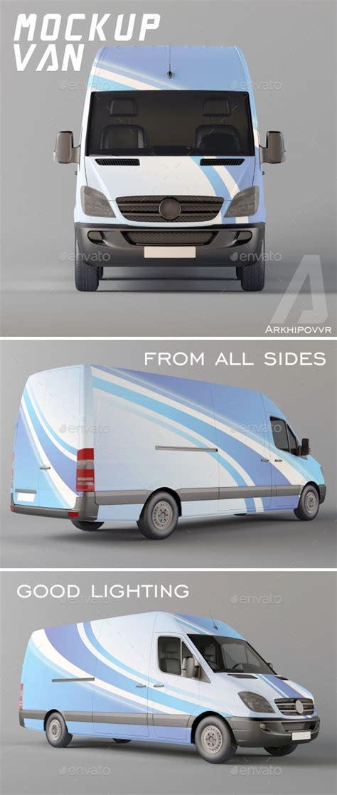 van design mockup 42 best van branding templates psd vector free premium
