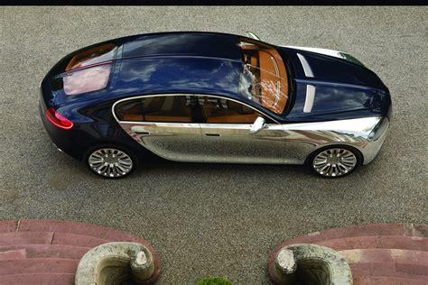 four door limousine might follow bugatti chiron