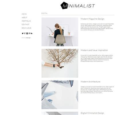 free minimalist themes 15 best free minimalist themes and templates 2018