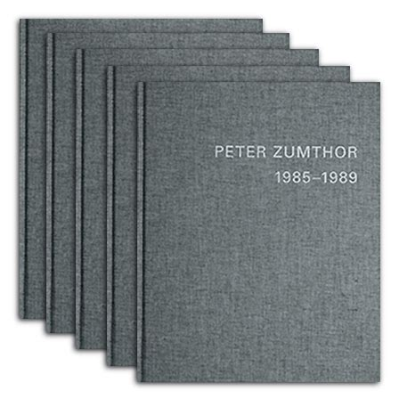 libro peter zumthor buildings and peter zumthor buildings and projects edited by thomas durisch signatura 72 zumthor bui 1 5
