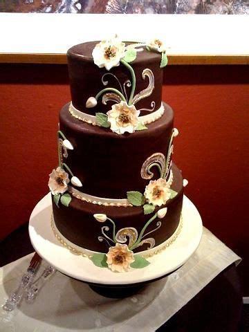 Best 25  Brown wedding cakes ideas on Pinterest