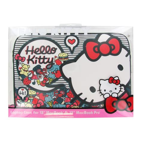 hello kitty wallpaper for macbook pro 13 hello kitty laptop case for 13 quot macbook kitty sweets