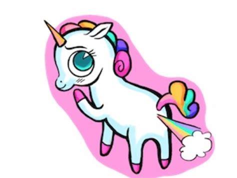 de que color son los gases toxicos de los unicornios