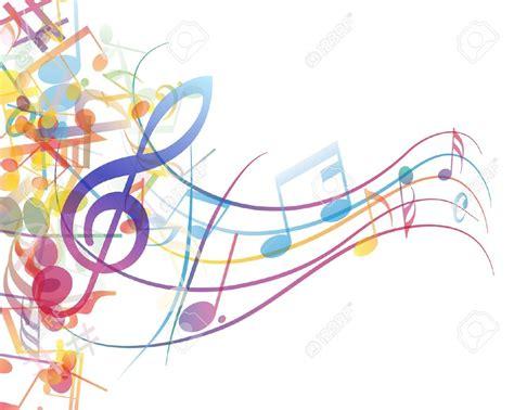 color notes vectores notas musicales colores buscar con