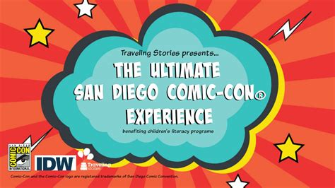 San Diego Comic Con Sweepstakes - traveling stories enter to win passes to san diego comic con 174 and support reading
