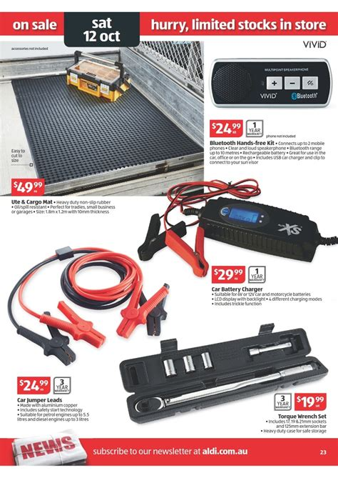 ALDI Catalogue   Special Buys Week 41 2013 Page 23