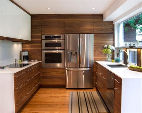 Modern Kitchen. stainless steel appliances together on 1