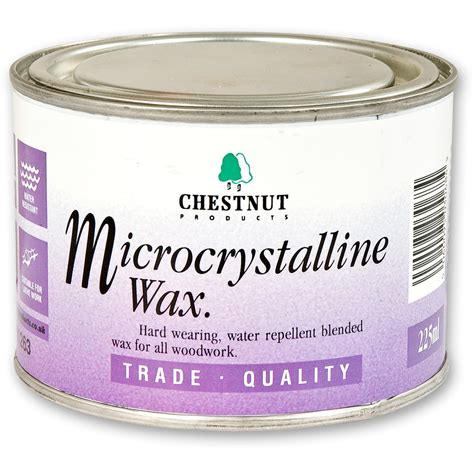 chestnut microcrystalline wax wax polishes stains