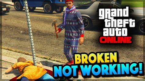 gta v tutorial online not working gta 5 online broken not working right gta 5 gameplay