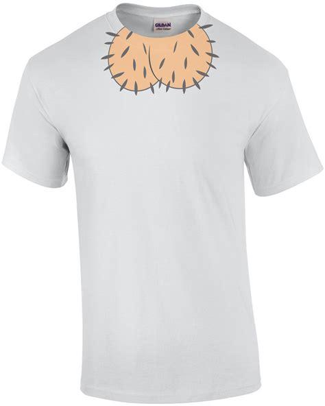 T Shirt Balls 6 chin balls t shirt