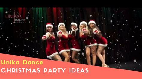 christmas party dance presentation ideas entertainment