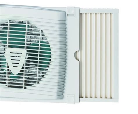 holmes one touch window fan holmes dual blade twin window fan home tool white new