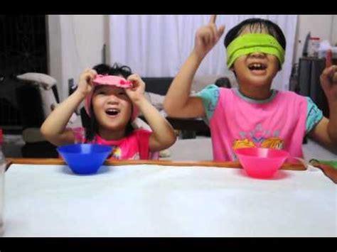 food tasting challenge zoe blindfolded food tasting challenge