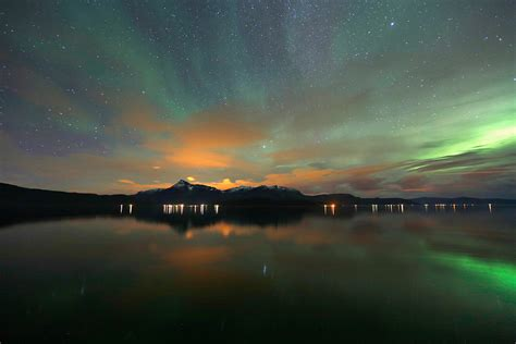 how far north to see northern lights aurora borealis stunning displays of the northern lights