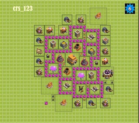 layout para centro da vila 6 cl 227 brevolutions clash of clans sugest 227 o de layouts