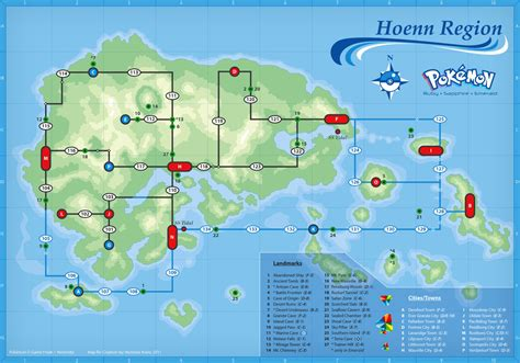 hoenn map community theme the pok 233 mon world by missymee283 ign