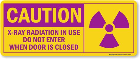 printable x ray radiation sign x ray radiation in use caution label do not enter sku