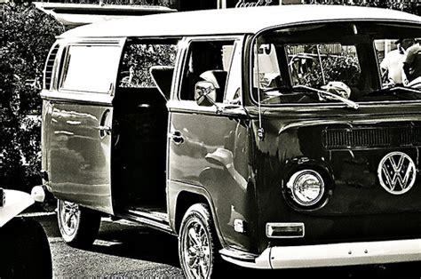 black volkswagen bus volkswagen bus in black and white flickr photo sharing