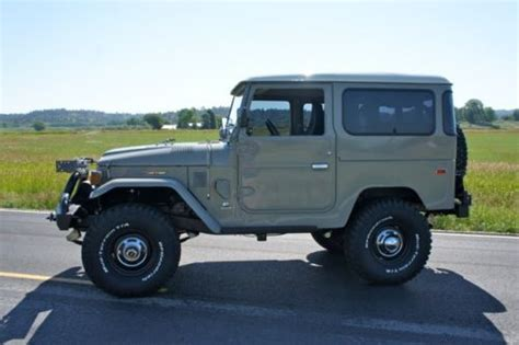 Toyota With Cummins Buy New 1976 Toyota Land Cruiser Fj40 Total Rebuild With