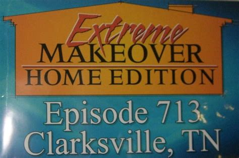 makeover home edition family to air