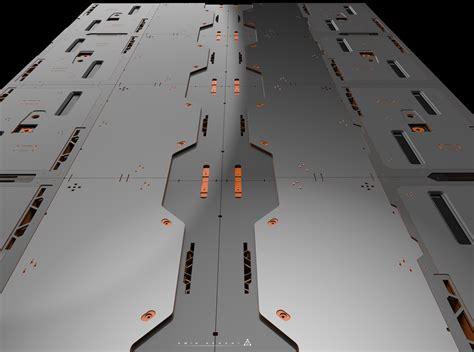 Floor Designer amin akhshi sci fi floor panels