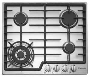 Westinghouse 5 Burner Gas Cooktop Westinghouse 60cm 4 Burner Gas Cooktop With Flame Failure