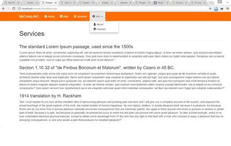 cara membuat website menggunakan bootstrap cara membuat template web dengan codeigniter dan bootstrap