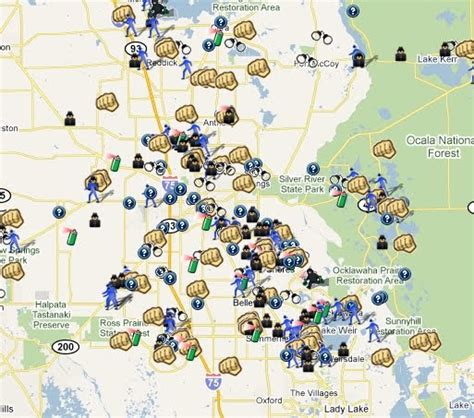Marion County Florida Records Marion County Florida Crime Map Spotcrime The S Crime Map