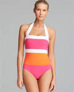 color block swimsuit one ralph bel aire modern color block mio one