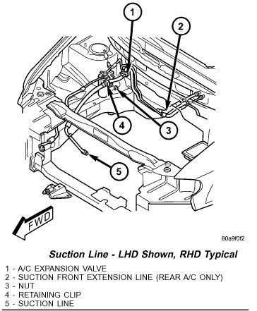 2007 dodge caravan air conditioning diagram submited images
