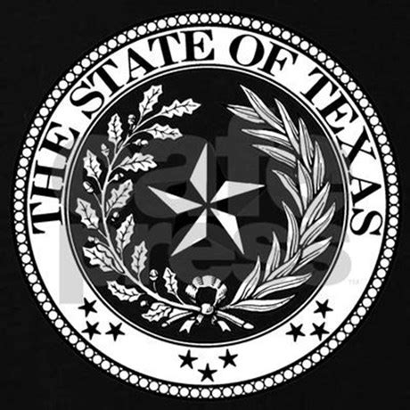 texas state seal t shirt by symbology