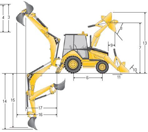 imagenes de una retro escabadora retroexcavadoras cargadoras caterpillar modelo 446d