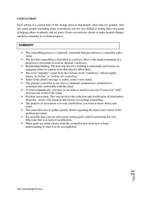 counselling process report template the counselling process stages of the counselling process