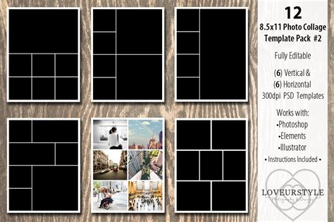 13 Designs For Your Photo Album Editable Psd In Design Format Download Photo Template Free