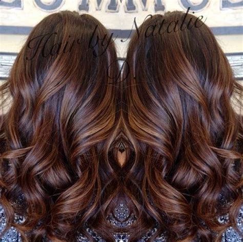 long brown hairstyles with parshall highlight how to go long brown hair with caramel balayage my dark brown hair