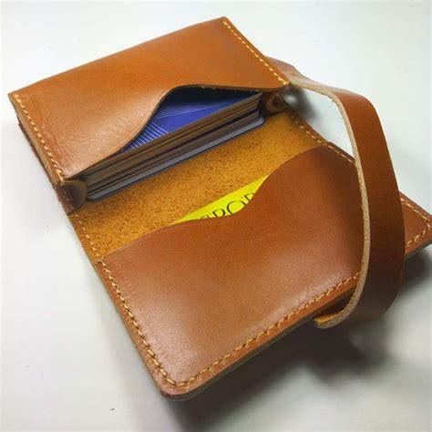 Dompet Kulit Asli Pull Up dompet kartu kulit asli sapi pull up handmade warna