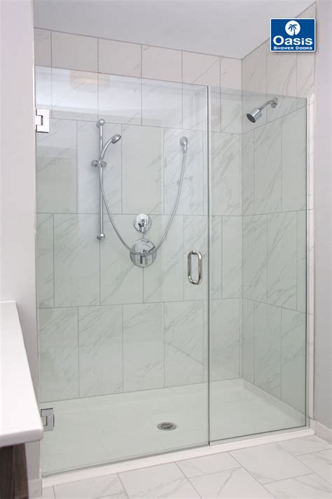 Shower Door Panel Frameless Glass Shower Spray Panel Oasis Shower Doors Ma Ct Vt Nh