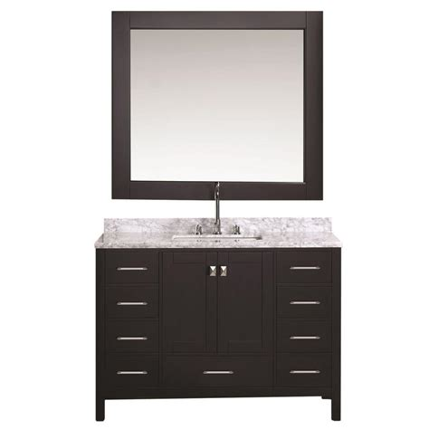 design element london 72 in w x 22 in d double vanity in design element london 48 in w x 22 in d vanity in