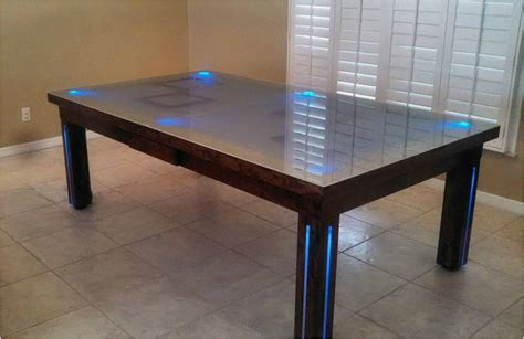 table top dining room pool tables